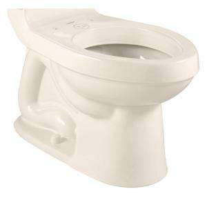 Standard Champion RightHeight Elongated Toilet Bowl Less Seat in Linen