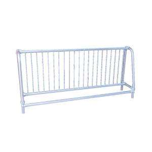 Ultra Play Commercial Park 10 ft. Single Sided Bike Rack  Portable