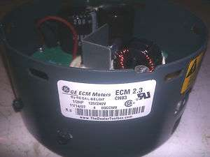 NEW GE ECM 2.3 1/2 HP END BELL BLOWER MOTOR PROGRAMMABLE CONTROL