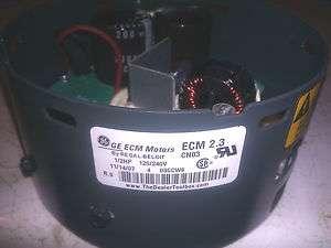 NEW GE ECM 2.3 1/2 HP END BELL BLOWER MOTOR PROGRAMMABLE CONTROL