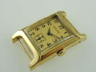 ULYSSE NARDIN 18K SOLID GOLD MANUAL WIND EXTRA LARGE CASE FANCY LUGS