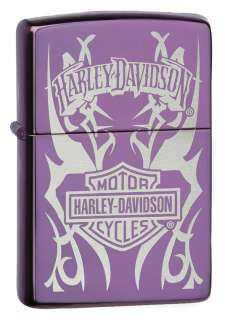 Zippo Lighter   Harley Davidson Abyss 24954