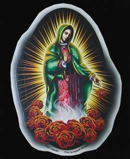 Lady Guadalupe AUFKLEBER Sticker Holy Mary Madonna Jesus Maria Tattoo