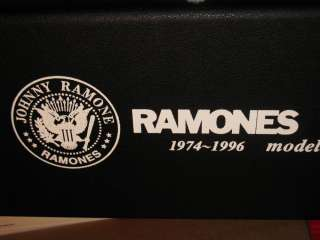 2005 MOSRITE JOHNNY RAMONE SIGNATURE LEFTY LEFT HANDED