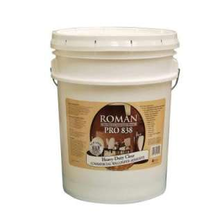 Roman Pro 838 5 Gal. Heavy Duty Clear Adhesive 203781 at The Home