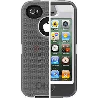 Otterbox Defender Series Case Cover& Belt Clip Holste for iPhone 4 4G