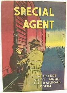 Special Agent A Picture Story About the Railroad Police 1959   Comic