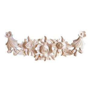Foster Mantels Flower Swag 1 Ft. X 4 1/2 In. X 3/4 In. Wood Onlay