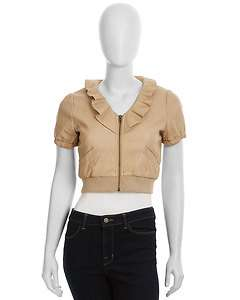 Romeo & Juliet Couture Short Sleeve Cropped Jacket