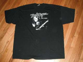 BOB SEGER  EARLY YEARS T shirt