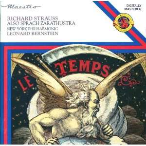 Also sprach Zarathustra   Richard Strauss/Leonard Bernstein David