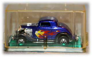 1979 Hot Wheels 34 Ford Hot Rod with display case