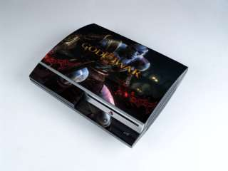 NEW Theme God of War Skin Sticker Decal For PS3 Y019