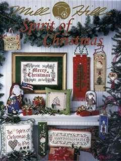 Mill Hill Spirit Of Christmas 30 Pg. Cross Stitch Book