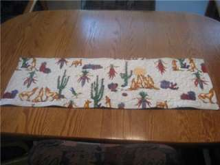 Handmade table Runner Christmas Arizona Southwest