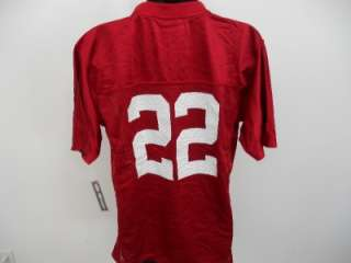 NEW #22 RED ALABAMA CRIMSON TIDE YOUTH LARGE L 14 16 Adidas Jersey 8JF