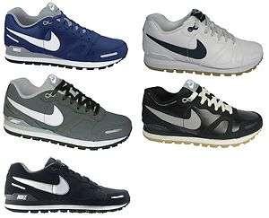 Nike Air Waffle Trainer Leather Herren Leder Velourleder Schuhe