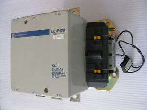 Telemecanique LC1F400 Contactor 420 Amp 600 V LC1 F400 120V