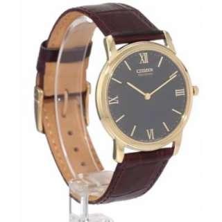 Citizen AR1122 03E Mens Eco Drive Stiletto Watch (New)