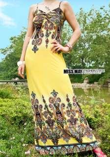 New Lady Strapless women Long Bohemia Maxi Dress 1