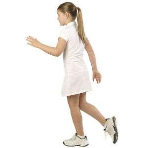 Kinder Mädchen Tenniskleid Piquet