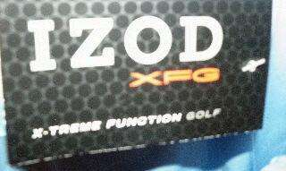 NWT MENS IZOD XFG GOLF PULLOVER WINDBREAKER JACKET L