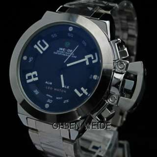 LATEST WEIDE MILITARY NAVY U SUB BOAT F1 SPORTS DIVERS MENS WATCH GIFT