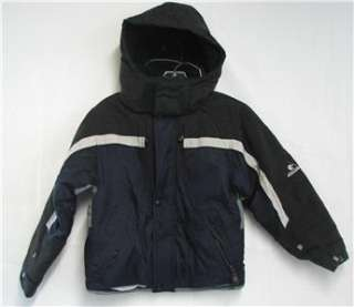 Gerry Junior Youth Snow Ski Jackets Insulated Navy Size 8 Pre owned