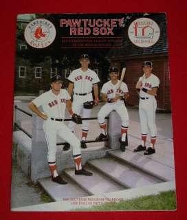 1986 Minor League Red Sox Baseball Program Yearbook