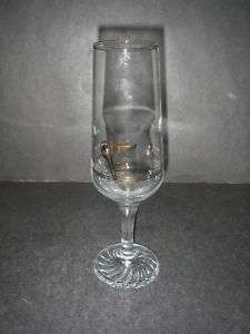 Champagne Flute Glass 1988 Calgary Olympics Stemware
