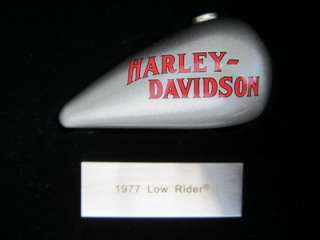2004 HARLEY DAVIDSON GAS TANK Display Case COLLECTION Camden County