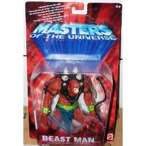 Masters of the Universe   BEAST MAN   rote EU Karte