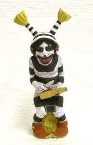 Hopi Indian Neil David Sr 10 Kachina Carving Koshare Clown Kachina