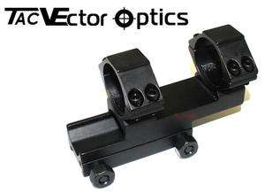 Optics Tactical 30mm Extended One Piece Weaver Picatinny Mount Ring