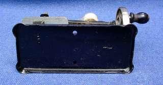 Miniature Hand Crank German Toy Sewing Machine Eagle Hallmark