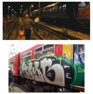 LONDON BURNERS   GRAFFITI ART BOOK   TRAINS