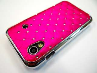 chrom Samsung Galaxy ACE S5830 STraSS BlinG COVER hard CASE HÜLLE