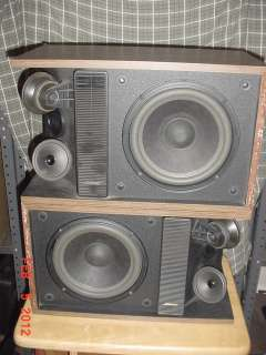 Vintage BOSE 301 Series II Direct Reflecting Speakers