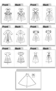 Butterick 4320 Disney Princess Costume Sewing Pattern