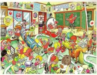 Classroom  Art RJ Crisp   750 Piece Jigsaw Puzzle Ceaco Comic Relief