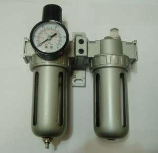 HBM AIR COMPRESSOR FILTER REGULATOR OIL LUBRICATOR FRL