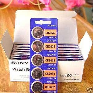 3 Piles Télécommande Volet Roulants Lithium SONY CR2032