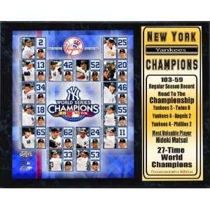 Encore Select 520 BBNYYWC2009 2009 New York Yankees World Series