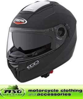 Caberg EGO Motorcycle Crash Helmet MATT BLACK XXL