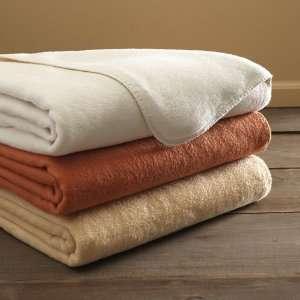 Gaiam 100% Organic Cotton Eco Throw Blanket (Honey Light