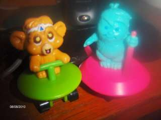 Vintage Paw Paws Toy PVC Figures Rare Hanna Barbera Lot