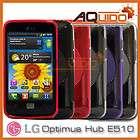 Schutzhülle für LG Optimus HUB E510 Hülle Case Tasche Cover