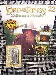 LORD OF THE RINGS COLLECTORS MODELS   22  GANDALF
