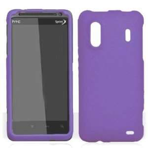 HTC Kingdom Sprint Hero 4G Rubber Dr. Purple Snap On Hard
