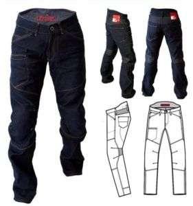 Pantaloni moto jeans ESQUAD E STRONG 2010 ARMALITH